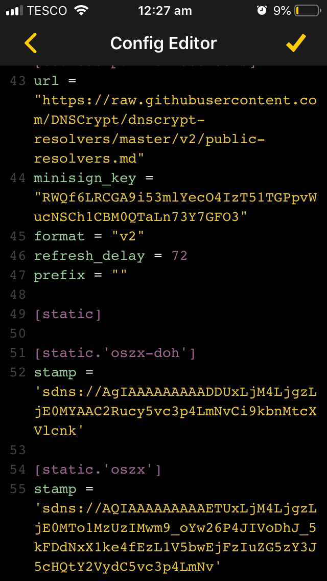 OSZX DNS - Setup Guide